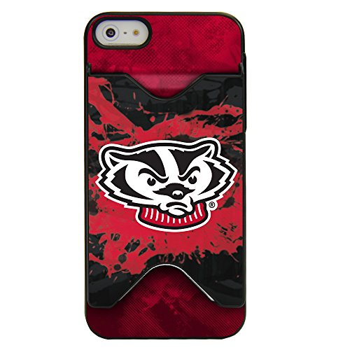 Guard Dog Wisconsin Badgers Credit Card Case for iPhone 5 / 5s / SE