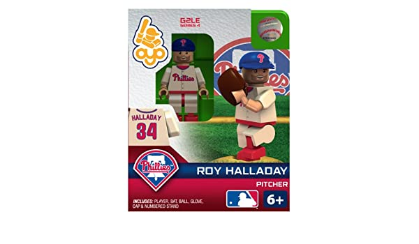 6e01e321d ... Amazon.com MLB Philadelphia Phillies Roy Halladay OYO Figure Sports Fan  Toy Figures Sports Outdoors ...