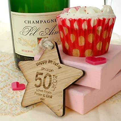 Special 50th Birthday Gift Keepsake Ideas For Her Wooden Gifts Womens Amazoncouk Kitchen Home