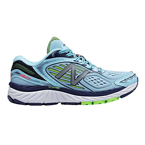 New Balance 860V7 Women's Running Shoes, Grey, UK5