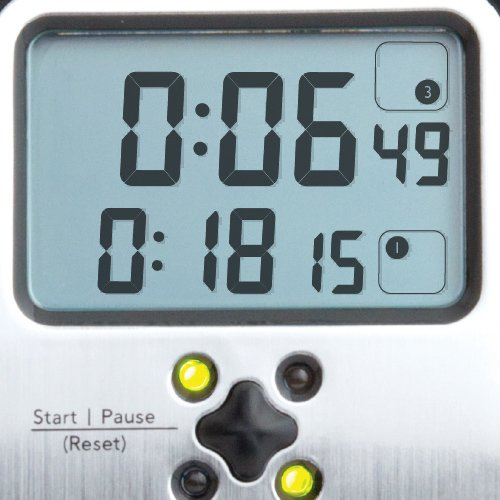 Chef's Quad-Timer Professional (Brushed Stainless)