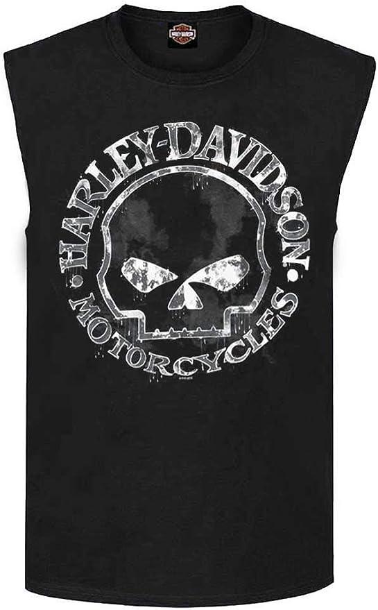 Music Tank Top Muscle Shirt DJ Skull Casque tete de mort Player Vinyle
