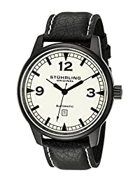 Stuhrling Original Men's Sportsmans Tuskegee Warhawk Watch Green 129XL.335566