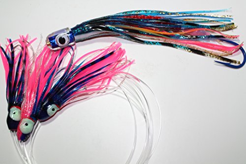 Deep Sea Fishing Tuna - Tuna Bullet Daisy Chain: Mahi Magician Fishing Lure for All Tuna Mahi Wahoo Marlin