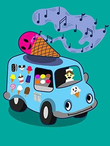 """(18x24)""""Ice Cream Truck"""" Funny Ice Cream Cone Singing for sale  Delivered anywhere in Canada"""