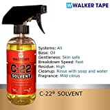 C22 Citrus Solvent Wig Glue Remover 12oz with 1.4oz