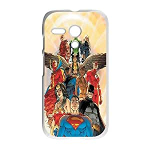 Motorola G Cell Phone Case White_Justice League of America (3) FY1575722