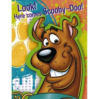 (Scooby-Doo Party Invitations)