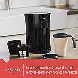 BLACK+DECKER Brew 'n Go Personal Coffeemaker with