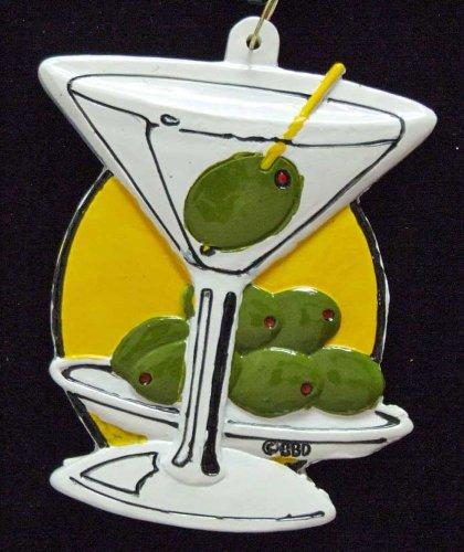 Martini and Olive Luaua Mardi Gras Bourbon Street Mardi Gras Beads New Orleans Bayou Lousianna Cajun Creole -
