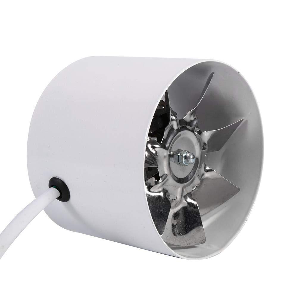 20W Extractor Ventilador Conducto silencioso Extractor Ba/ño Cocina dom/éstica Conducto Axial Ventilaci/ón Extracctor Ventilador para Cuarto de ba/ño 4 pulgadas