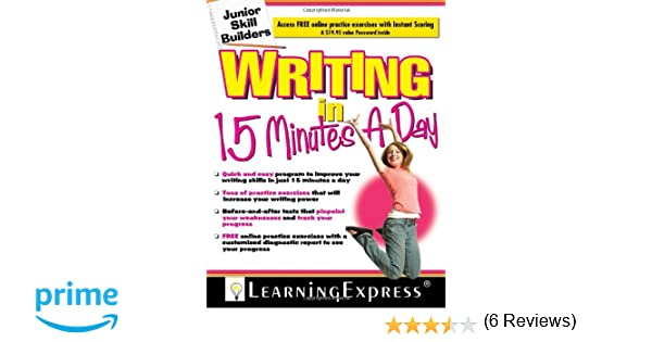 Amazon.com: Writing in 15 Minutes a Day: Junior Skill Builder ...