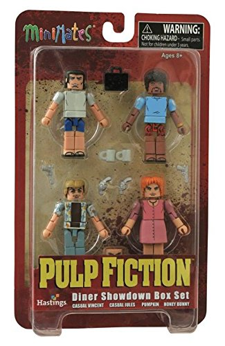 Diamond Select Toys Pulp Fiction 20th Anniversary: Diner Showdown Minimates Box Set Hastings Exclusive