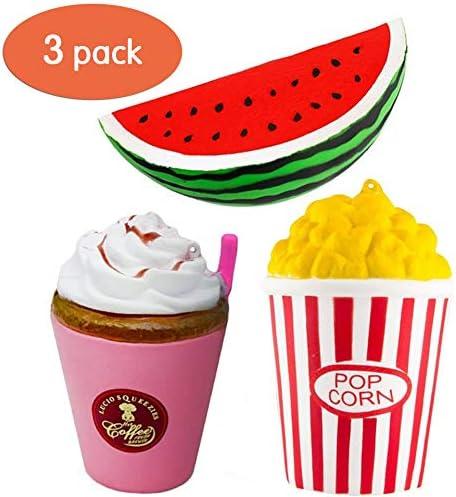 ZhengYue Squishy Kawaii Grandes Juguete Niños Squeeze Popcorn ...