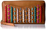 Caroline Rfid Zip Wallet Wallet, Neutral Multi, One Size