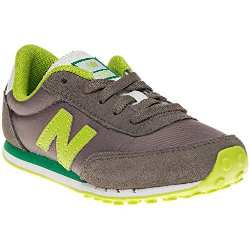New Balance Kl410 M - Zapatillas para unisex-niños Grigio (Grigio - Grigio (grigio/verde))