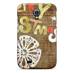 Galaxy S4 Merry Christmas Greeting Print High Quality Tpu Gel Frame Case Cover