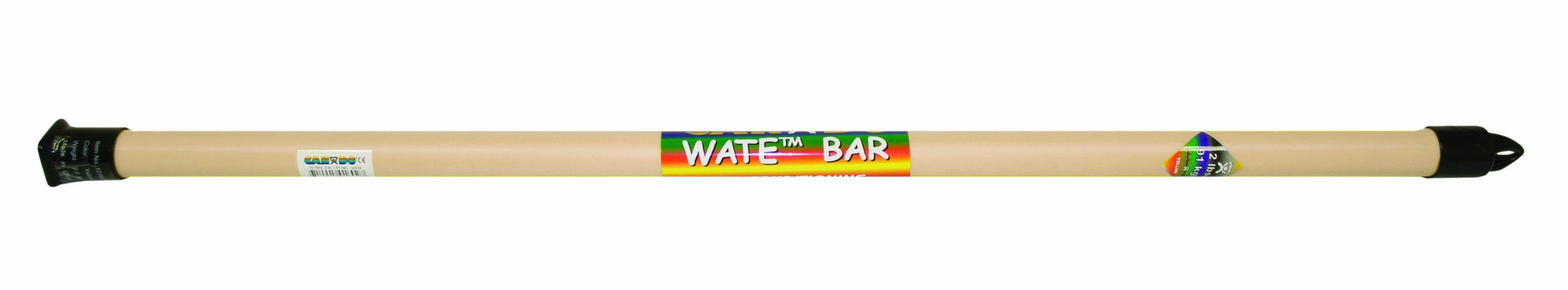 Cando Exercise Wate Bar, 1 lbs Weight, Tan