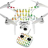 MightySkins Protective Vinyl Skin Decal for DJI Phantom 3 Standard Quadcopter Drone wrap cover sticker skins Rainbow Pineapples