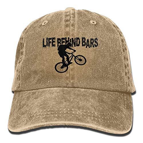 Unisex Hat Denim béisbol Baseball Motorcycle Biker hanbaozhou Bars Casual Caps Gorras Life Behind FnzT8