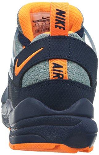 Nike Herren Air Huarache Light Laufschuhe, Talla Blau / Grau / Orange (Mdnght Nvy / Brght Ctrs-Sqdrn Bl)