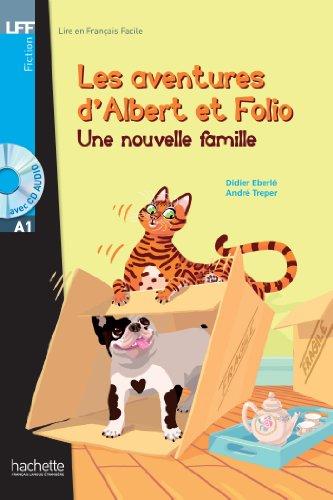 Albert Et Folio: Une Nouvelle Famille + CD Audio MP3: 1