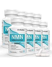 NMN-supplement met maximale sterkte   500 mg per capsule   Krachtige boost NAD + -niveaus ter ondersteuning van veroudering en mentale prestaties   NAD-extensie   60 capsules nicotinamide-mononucleotide
