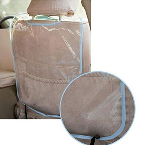 Sedeta fundas de asiento de coche vehículo seguridad infantil Protector Mat Pad Cojín Anti Kick Slip