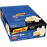 PowerBar Protein Plus Bars, Vanilla, 20g Protein, 2.12-Ounce Bars (Pack of 15)