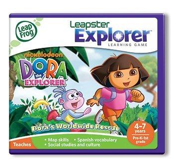 - Dora the Explorer Leapfrog Leapster Explorer Learning Game