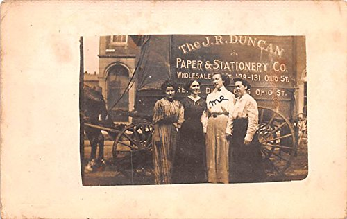 The J.R. Duncan Paper and Stationery Co Terre Haute, Indiana postcard