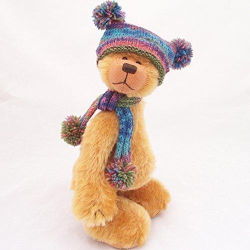 Gold Mohair Bear - 2
