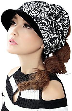 新しいレディースガールズ冬暖かフラットポニーテール帽子ヒップホップスポーツキャップ釣り帽子