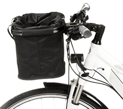 Lenker Fahrradkorb EASY SHOPPER Alu-Rahmen faltbar Tasche Bike Rad Basket Schwarz yx 1552