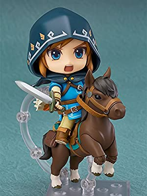 Good Smile The Legend Of Zelda: Breath Of The Wild: Link (Deluxe Version) Action Figure from Diamond Comic Distributors
