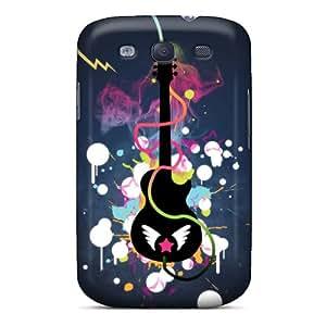 New Tpu Hard Case Premium Galaxy S3 Skin Case Cover(rock And Roll)