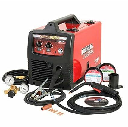 Mig Welder For Sale >> Power 140c 120v Mig Welder 140a Mig Welding Equipment Amazon Com