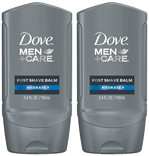Shaving Care - Dove Men+Care Post Shave Balm, Hydrate+ 3.4 oz (Pack of 2)