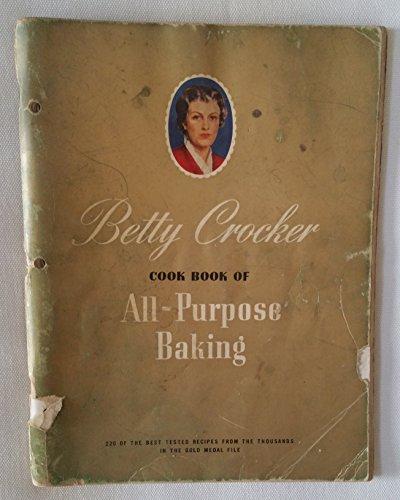 Betty Crocker Cook Book of All-Purpose Baking