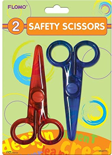 2 pack 4'' Safety Scissors 48 pcs sku# 1916106MA