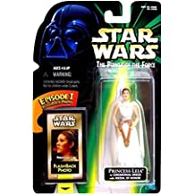 Star Wars POTF Action Figure with Flashback Photo - Princess Leia in Ceremoni...