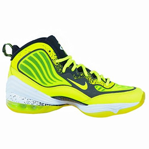 Nike Mens Air Penny V Hl Volt, Nero-bianco