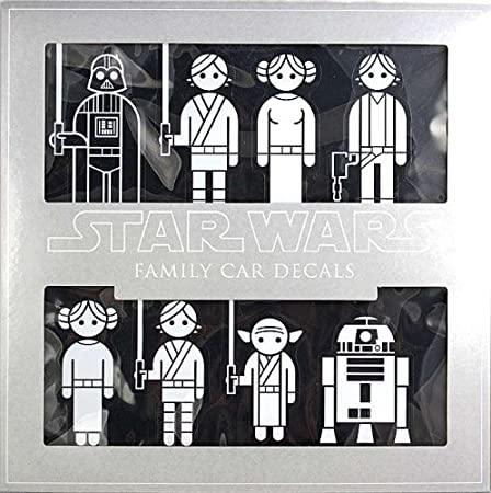 Star Wars Familie Auto Aufkleber Auto