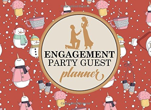 Book by Moito Publishing - Engagement Party Guest Planner