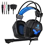 Cheap Sades SA921 Game Headphones with Mic Gaming Headset for PS4 Xbox360 Xbox one PC Smart Phone Laptop Mobile phones(Black)