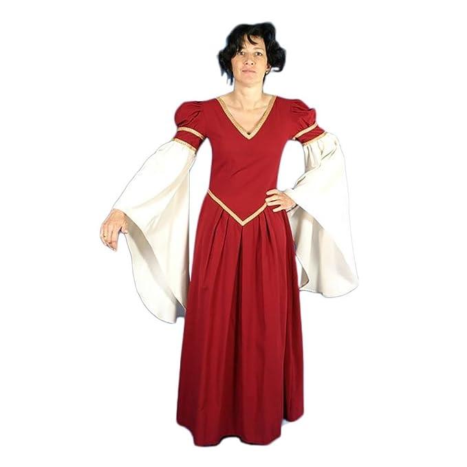 Traje Medieval Mujer Ayala T. XL: Amazon.es: Ropa y accesorios