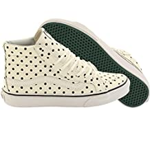 Vans Women Sk8-Hi Slim - Leather Polka Dots