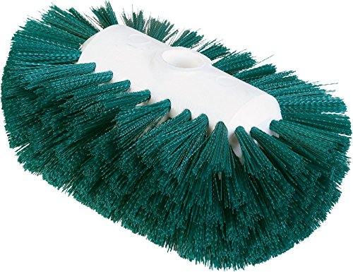 - Carlisle 4004109 Sparta Spectrum Flare Head Tank and Kettle Brush, Green Polyester Bristles, 7-1/2