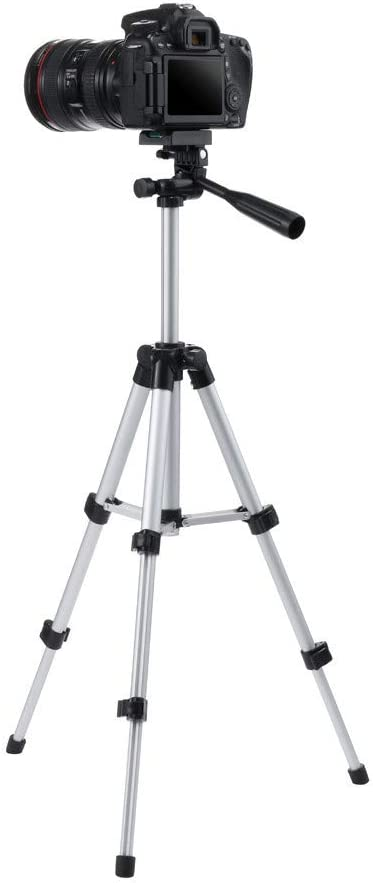 DDgrin Travel Tripod Portable Camera 27.2 in Universal Tripod Mount Aluminium Lightweight with Carrying Bag for Cameras Video