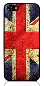 UK FLAG United Kingdom Hard Case for Apple iPhone 5/5S ( Sugar Skull )